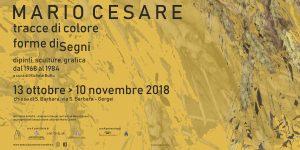 Mario Cesare – Tracce di colore, forme diSegni